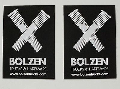 Bolzen trucks & hardware Skateboard Longboard 2 Aufkleber Sticker (S30)