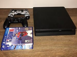 Sony PlayStation 4 Slim 500gb (considering trade for Xbox One S)