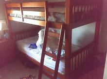 Wooden bunk bed Ingle Farm Salisbury Area Preview