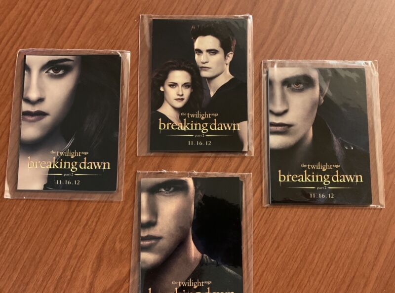 SDCC Promo Trading Card THE TWILIGHT SAGA BREAKING DAWN Part 2 Random Pack