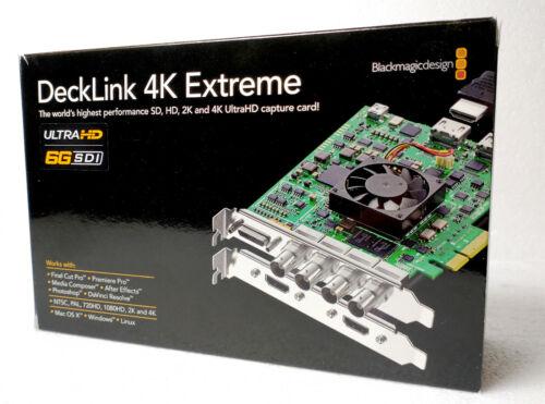 Blackmagic DeckLink 4K Extreme - Video Capture Card