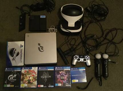Playstation 4 1 TB and VR package