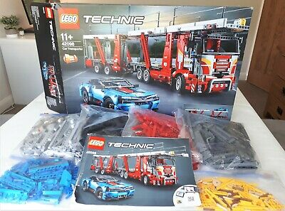 Lego Technic Car Transporter 42098 + Chevrolet Corvette ZR1 42093 Bundle