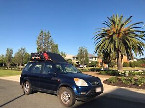 2002 Honda Cr-v (4x4) 4 Sp Automatic 4d Wagon