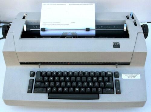 IBM Selectric II Self Correcting Typewriter Refurbished Serviced