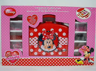 Minnie Mouse Spielset Set Schmuck Koffer Spielzeug Minni Maus Disney 250914