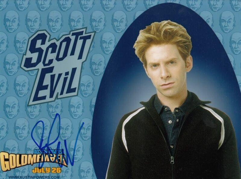 SETH GREEN signed (AUSTIN POWERS) Movie 8X10 photo *Scott Evil* W/COA