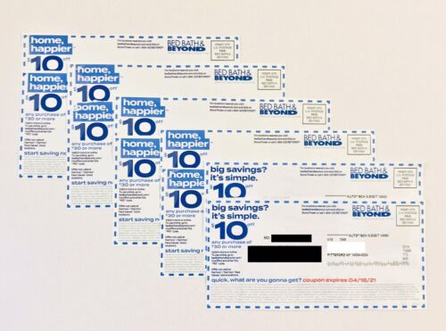 10 Bed Bath Beyond Coupons 10 Off 30 - $19.99