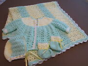 Handmade Crochet Baby Sweater