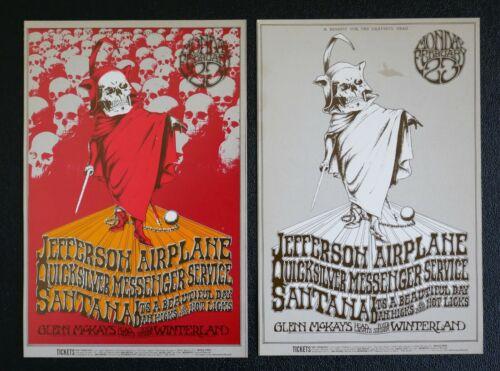 2 Fillmore Postcards BG-222