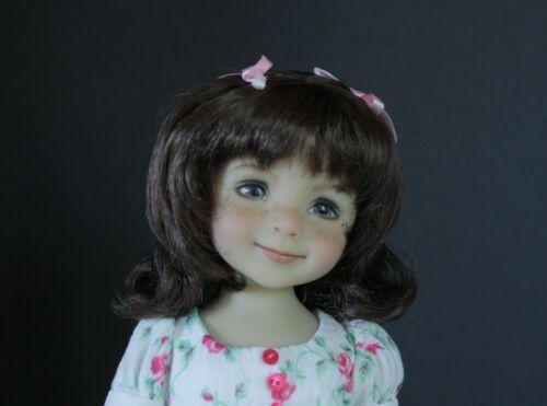 """Little Darling, Boneka,Riley, BJD""""Penny"""" Wig Sizes RD4,4-5,5-6,6-7,7-8,8-9,10-11"""