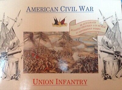 Soldatini 1/72 UNION INFANTRY AMERICAN CIVIL WAR ACCURATE FIGURES 7202