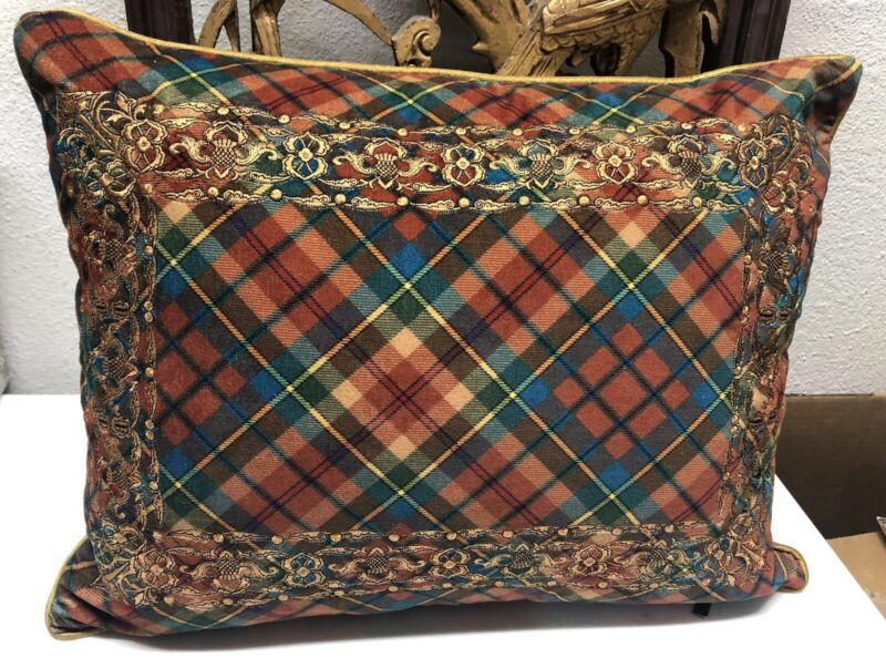 MACKENZIE-CHILDS Highland Lumbar Pillow - Store Displayed