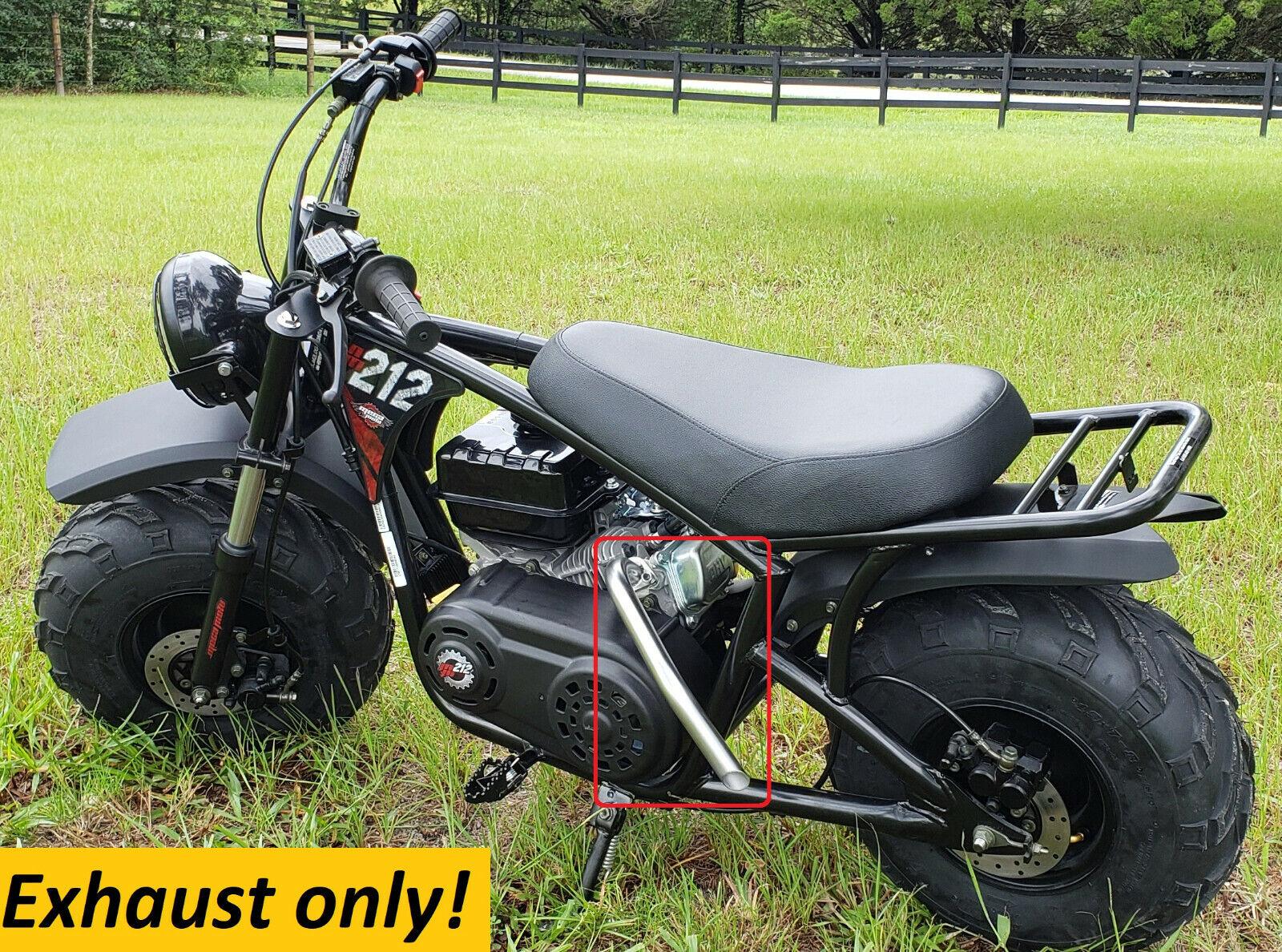 Exhaust Header for: Mega Moto 212cc Gas Powered Mini Bike Pr