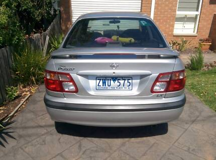 2001 Nissan Pulsar Sedan Ormond Glen Eira Area Preview