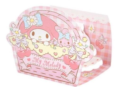 My Melody Message Mini cards Set Cart design With Envelope / Seal Sanrio japan