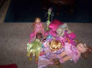 Princess/Fairy Itemx20 Items:DollsLge+Sml/Spire/Cushion$75Lot Skye Frankston Area Preview