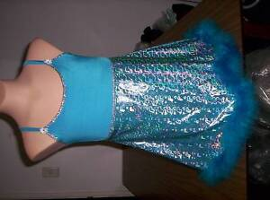 Blue Holographic Dress Martin Gosnells Area Preview