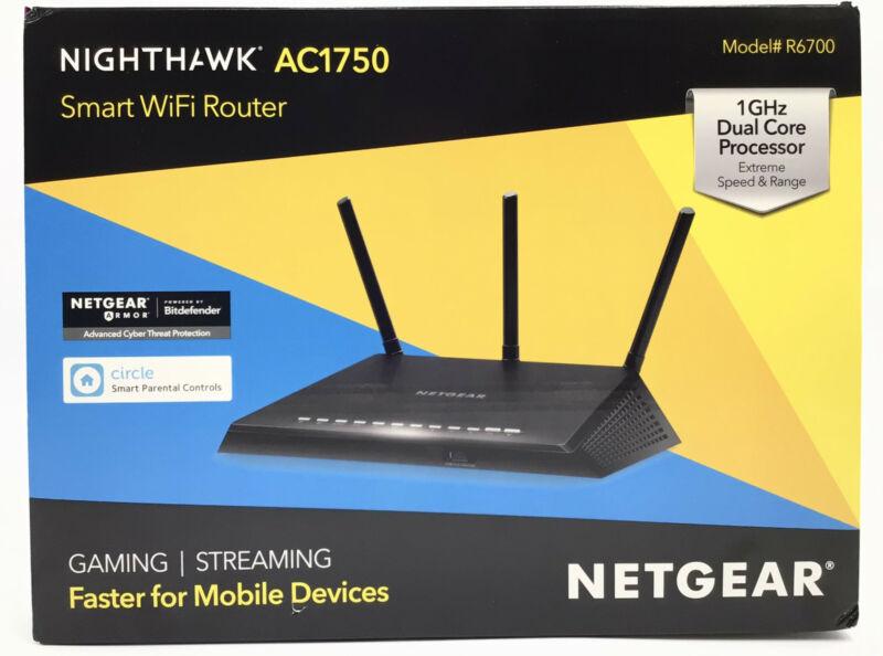 NETGEAR Nighthawk AC1750 Smart Dual Band WiFi Router