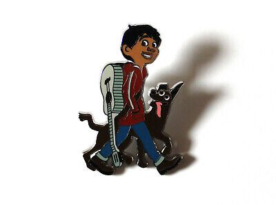 Miguel Guitar Dante Mexican Hairless Dog Day of the Dead Disney Pixar Coco Pin