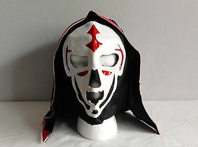 LA PARKA Black ADULT NEW Lucha Libre Pro Wrestling MASK Lucha Libre Mexico wwe 1 for sale  Shipping to Canada
