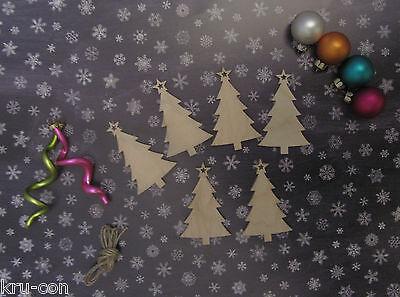 Geschenkanhänger für Weihnachten - Motiv Weihnachtsbaum Geschenk basteln Typ 3 ()