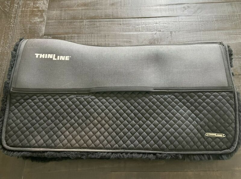 ThinLine Sheepskin Comfort Western Square Pad