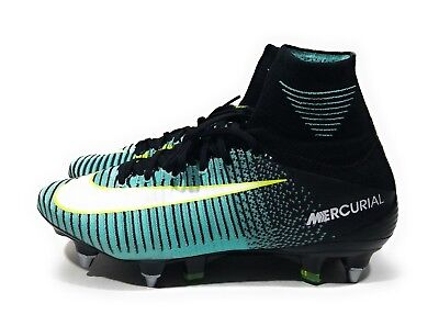 Nike Mercurial Superfly V DF SG Pro Womens Soccer Cleats Aqua Black Size 8 c0ed046f8