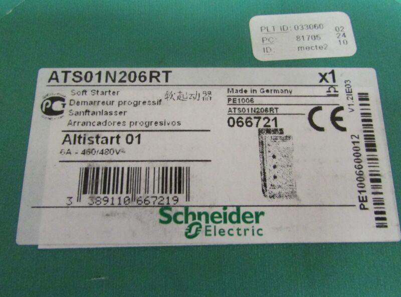GROUPE SCHNEIDER ATS01N206RT PE10006 Altistart 01 6 AMP 480 V Soft Starter
