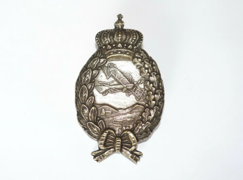 GERMAN BAVARIAN ARMY AIR FORCE WW1 ERA large PILOT BADGE
