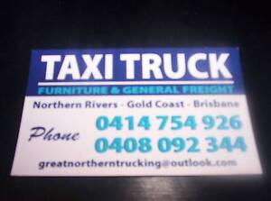 TAXI TRUCK + BRISBANE + GOLD COAST +NORTHERN RIVERS Byron Bay Byron Area Preview