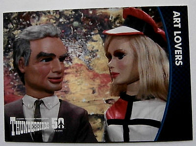 THUNDERBIRDS 50 YEARS - Card #22 - Gerry Anderson - Unstoppable Cards Ltd 2015