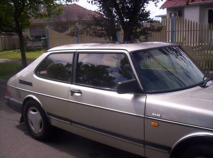 1991 Saab 900 turbo Coupe - manual gearbox Braybrook Maribyrnong Area Preview