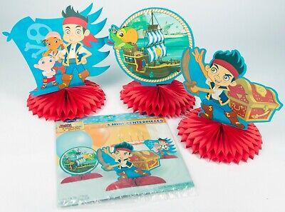 Jake And Neverland Pirates Decorations (Jake and the Never Land Pirates Party Table Decorations Supplies 12)