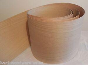 IRON-ON OAK PRE GLUED WOOD VENEER SHEET 2500mm x 250mm