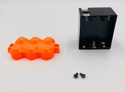 Nerf Lazer Tag Phoenix LTX Battery Compartment, Cover & Screws Replacement Parts