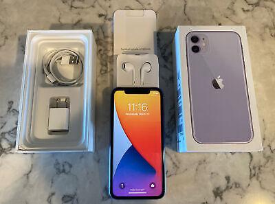 Apple iPhone 11 Purple 64GB~Unlocked~AT&T~A2111