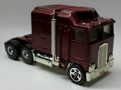 Hot Wheels #483 Thunder Roller Red Semi Truck Mid 1990's Diecast 3+ Used