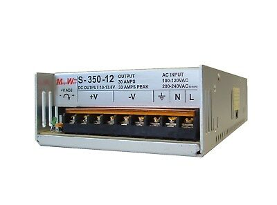 33 Amp 12 Volt Dc 13.8v Regulated Power Supply 30a Real Megawatt