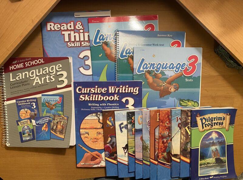 Abeka Language Arts 3