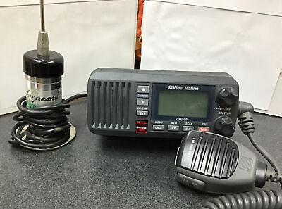 West Marine VHF595 Submersible, Fixed Mount, VHF Radio.(54454)