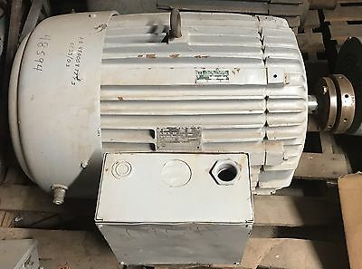 Used Us Electrical Motors 405tb Motor 100hp 3550rpm 3ph Refurbished