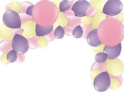 Latex Balloon Garland Party Kit Owl Birthday Decoration, Bunny Birthday, XL