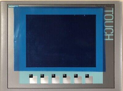 Siemens Simatic Hmi Ktp600 Basic Panel Color 6av6647-0ad11-3ax0 6av6 647-0ad11-3