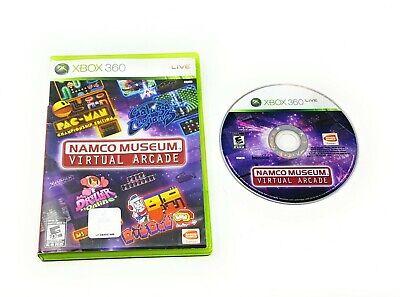 Namco Museum: Virtual Arcade (Microsoft Xbox 360, 2008) FREE SHIPPING PACMAN