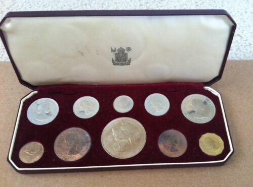 UK Britain Queen Elizabeth Royal Family Coronation Proof Coin Set Lot Windsor QE