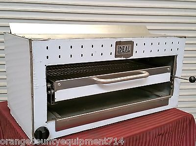 New 36 Salamander Gas Infrared Broiler 2959 Cheese Melter Commercial Nsf Fish