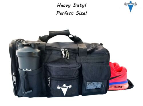 LTrevFit Gym Bag Workout Weight Lifting Duffle Travel All Sp