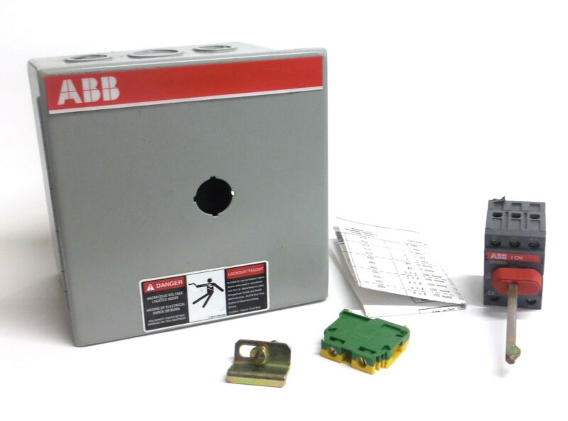 ABB ELECTRICAL ENCLOSURE FOR DISCONNECT SWITCH, NF321-3PBJA