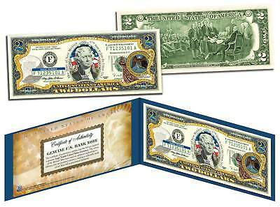 NEW MEXICO $2 Statehood NM State Two-Dollar U.S. Bill *Legal Tender* with Folio